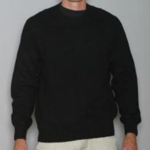 Blumarine Black Crewneck Sweater